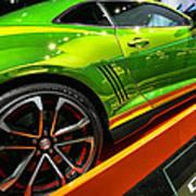 2012 Chevy Camaro Hot Wheels Concept Art Print by Gordon Dean II
