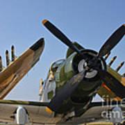A-1d Skyraider Art Print