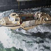 A Lighter Amphibious Re-supply Cargo Art Print