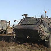 A Tpz Fuchs Armored Personnel Carrier Art Print