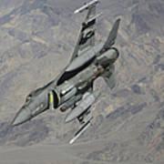 A U.s. Air Force F-16 Fighting Falcon Art Print