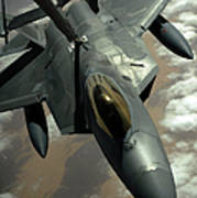 A U.s. Air Force F-22 Raptor Art Print