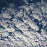 A View Of A Cloud-filled Sky Over Miami Art Print