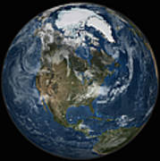 A View Of The Earth With The Full Art Print