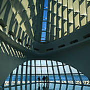 A View Of The Inside Of The Milwaukee Art Print