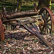 Abandoned Wagon Art Print