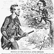 Abraham Lincoln Cartoon Art Print