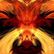 Abstract Five Art Print