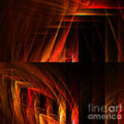 Abstract Forty-seven Art Print