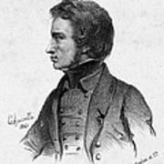 Adam Mickiewicz (1798-1855) Art Print