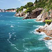 Adriatic Sea Coastline Art Print