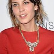 Alexa Chung At Arrivals For The Art Print by Everett