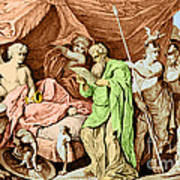 Alexander The Great And His Physician Art Print
