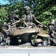 Alice In Wonderland In Central Park Art Print
