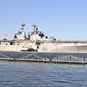 Amphibious Assault Ship Uss Wasp Art Print