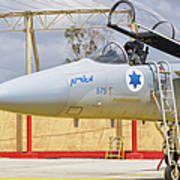 An F-15c Eagle Baz Aircraft Art Print