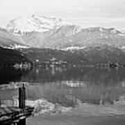 Annecy The Lake Art Print