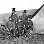 Antietam: Officials, 1862 Art Print