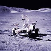 Apollo Mission 17 Art Print