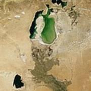 Aral Sea Art Print