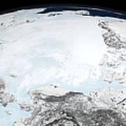 Arctic Sea Ice Art Print