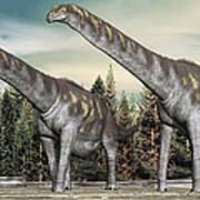Argentinosaurus Art Print