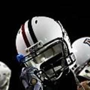 Arizona Football Helmets Art Print
