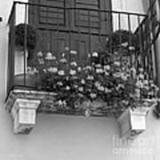Artisan's Balcony Art Print by Gordon Wood