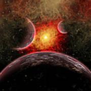 Artist Concept Illustrating The Stellar Art Print