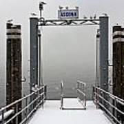 Ascona With Snow Art Print