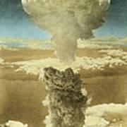 Atomic Bombing Of Nagasaki Art Print by Omikron