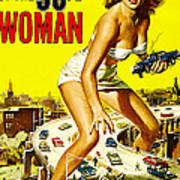 Attack Of The 50 Foot Woman, Allison Art Print by Everett