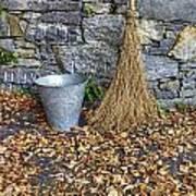 Autumn In The Garden Art Print