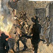 Bacons Rebellion, 1676 Art Print