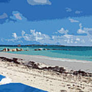 Bahamas Cruise To Nassau And Coco Cay Art Print