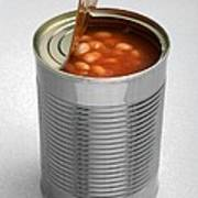 Baked Beans In A Can Art Print