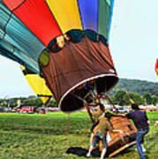 Balloonist - Ready For Takeoff Art Print