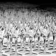 Banquet Glasses Art Print by Svetlana Sewell