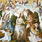 Baptism Of Christ Art Print