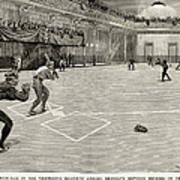 Baseball: Brooklyn, 1890 Art Print