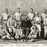 Baseball: Providence, 1882 Art Print