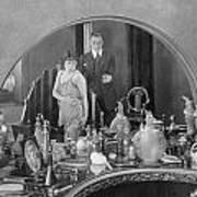 Bedroom Scene, 1920s Art Print