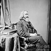 Benjamin Peirce, American Mathematician Art Print