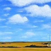 Big Sky Prairie Art Print
