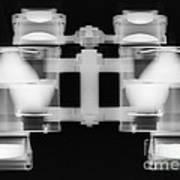 Binoculars X-ray Art Print