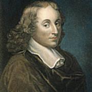 Blaise Pascal (1623-1662) Art Print