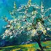 Blooming Appletree Art Print