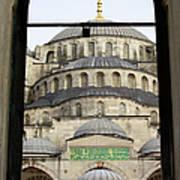 Blue Mosque Art Print