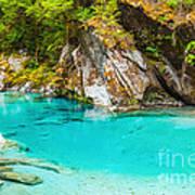 Blue Pools Print by MotHaiBaPhoto Prints