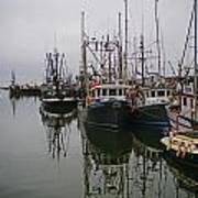 Boat Reflections Art Print